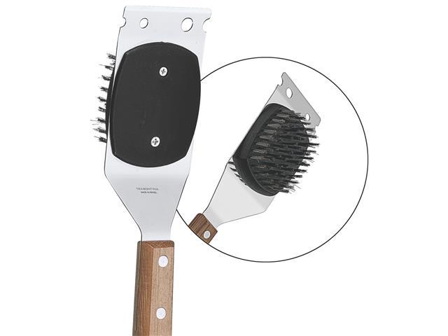 Escova para Limpeza de Churrasqueira Tramontina Inox - 1
