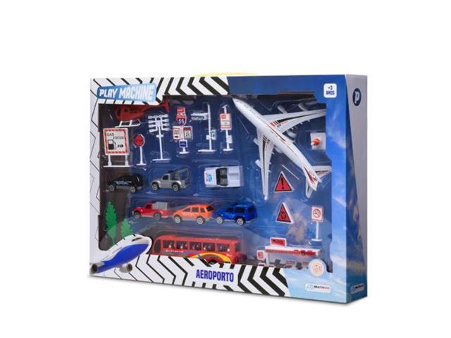 Aeroporto Multikids BR968 Play Machine Colorido - 1