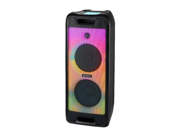 Caixa Amplificada Bluetooth Gradiente Full Led 1000W
