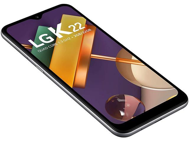 """Smartphone LG K22 4G 32GB Duos Tela 6.2"""" HD+ Câmera 13+2MP Cinza - 4"""