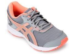 Tênis Infantil Asics Buzz 4 Gs Sheet Rock/Rose Gold - 0