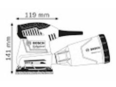 """Lijadora Orbital 1/4"""" GSS 140 - 1A 180W - 1"""