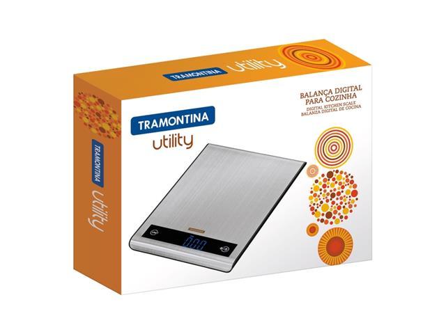 Balança Digital para Cozinha Tramontina Utilitá Aço Inox - 4