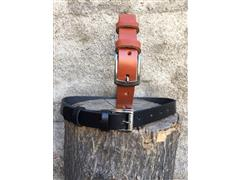 Cinturon cuero suela natural