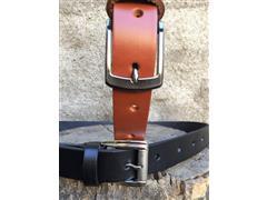 Cinturon cuero suela natural - 1