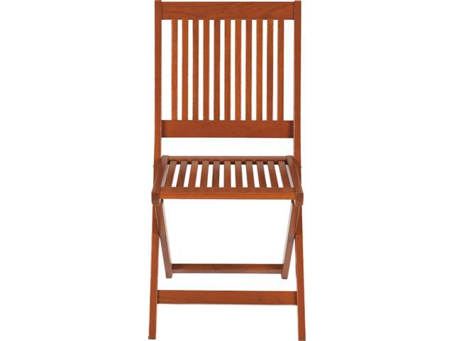 Cadeira Dobrável Tramontina Fitt Madeira Jatobá - 2