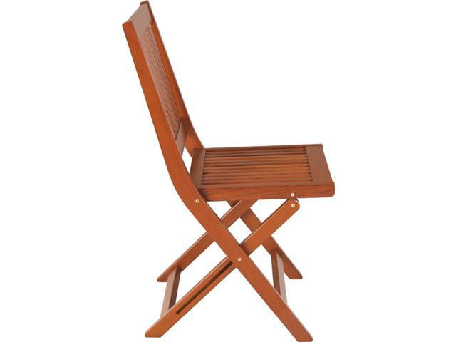 Cadeira Dobrável Tramontina Fitt Madeira Jatobá - 1