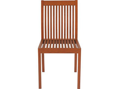 Cadeira sem Braço Tramontina Terrazzo Fitt Madeira - 2