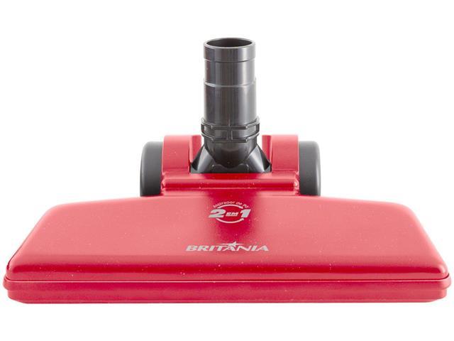 Aspirador de Pó Vertical Britânia Dust Off Turbo Vermelho 1250W 110V - 4