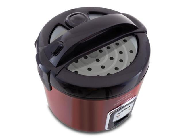 Panela de Arroz Elétrica Britânia Glass Cooker Red 220V - 1