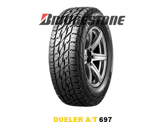 Neumático LT225/70R17 110/107S 8PR DUELER A/T 697 BRIDGESTONE