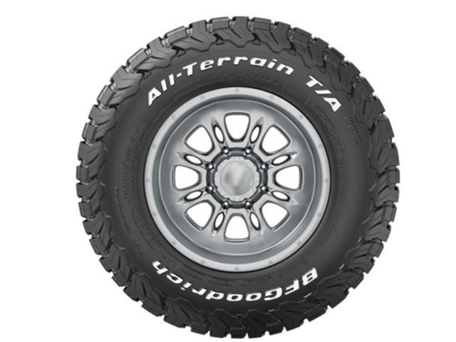 Neumático LT245/70R17 119S ALL-TERRAIN T/A KO2 LRE RWL BFGOODRICH