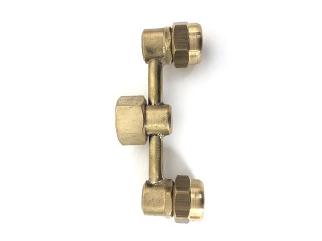 Multiplicador de gotas céntrico de bronce 18 unidades