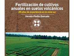 Libro Fertilización de cultivos anuales en suelos volcánicos