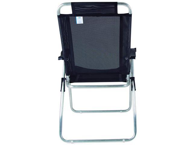 Cadeira Reclinável Mor Boreal Preta - 1