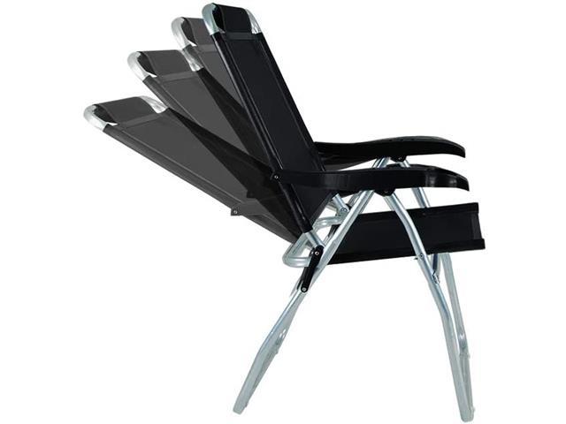 Cadeira Reclinável Mor Boreal Preta - 2