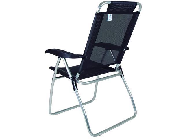 Cadeira Reclinável Mor Boreal Preta - 3