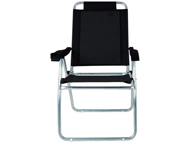 Cadeira Reclinável Mor Boreal Preta - 4