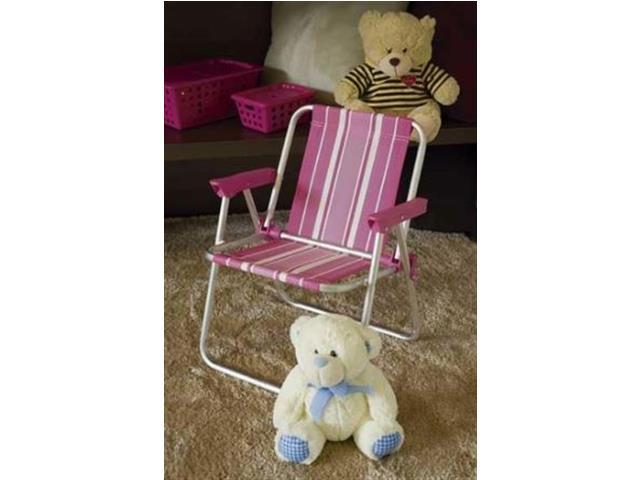 Cadeira de Praia Mor Rosa Infantil - 1