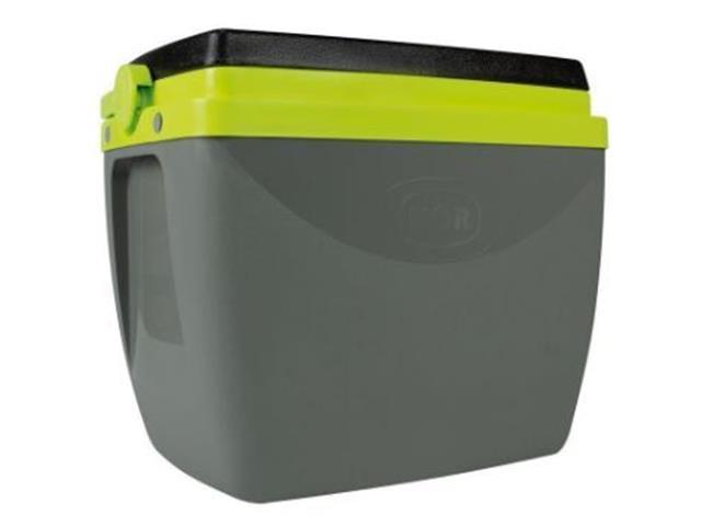 Caixa Térmica Mor 18 Litros Cinza com Verde - 1