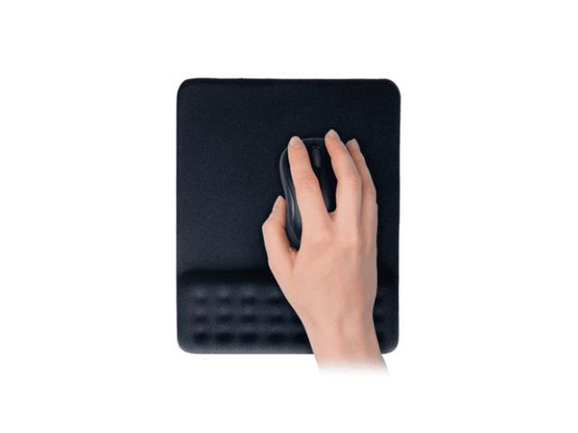 Mouse Pad Multilaser Dot AC365 com Apoio de Pulso Gel Preto