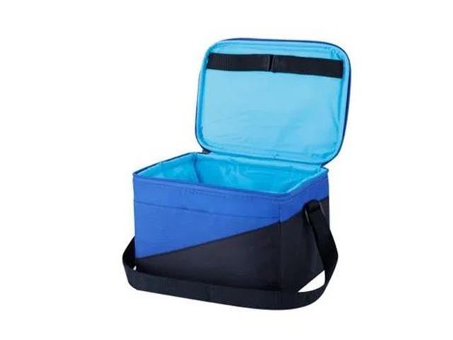 Bolsa Térmica Igloo Tech Soft Azul e Preto 5 Litros - 1