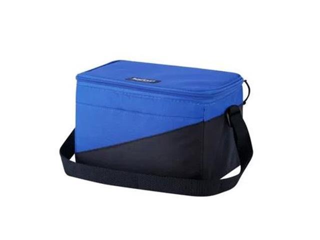 Bolsa Térmica Igloo Tech Soft Azul e Preto 5 Litros