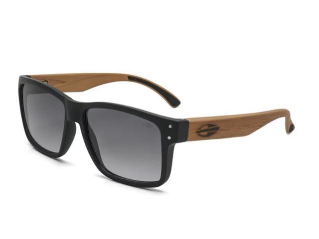 Óculos de Sol Mormaii Mumbai Preto Fosco Madeira