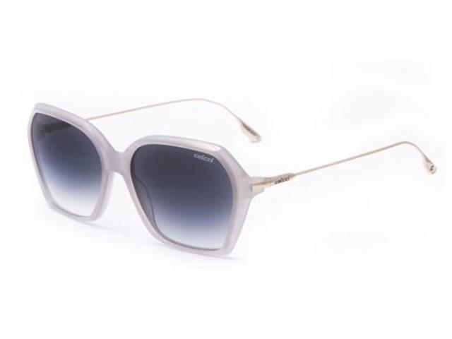 Óculos de Sol Colcci C0159 Cinza Translúcido Lente Cinza Degradê
