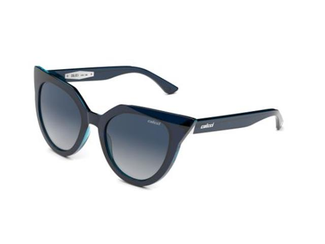 Óculos de Sol Colcci C0158 Azul Lente Azul Escuro Degradê