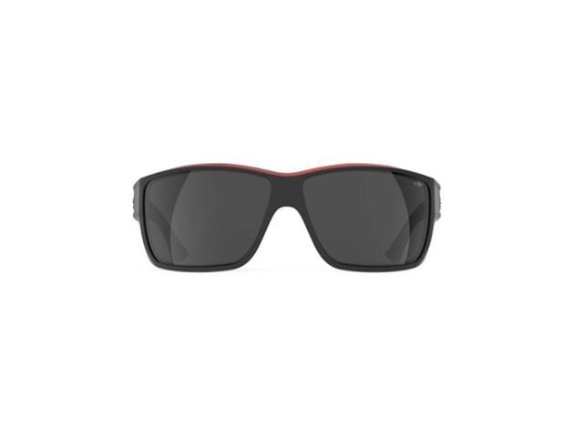 Óculos de Sol Mormaii Joaca III Preto com Vermelho Lentes Fosca Cinza - 1