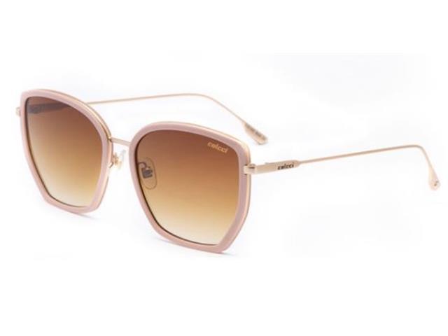 Óculos de Sol Colcci C0160 Rosa Fosco Lente Marrom Degradê