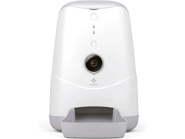 Alimentador Automático Nutri Inteligente Ekaza Pet com Câmera
