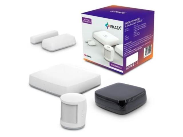 Kit Casa Inteligente Ekaza Smart Home Essencial com Controle Remoto