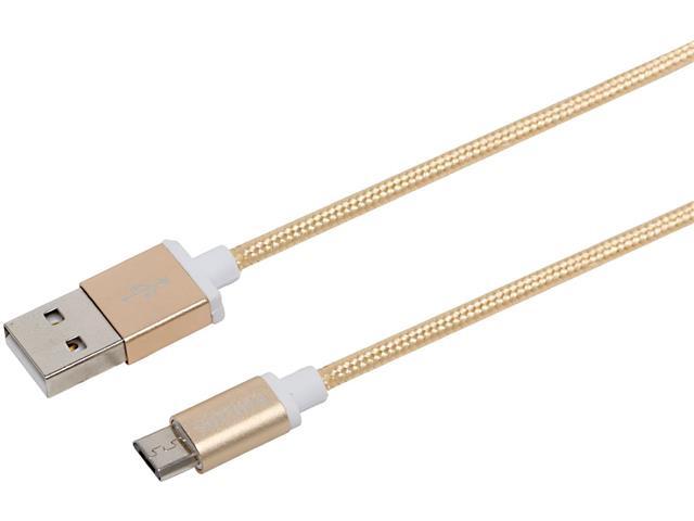 Cabo com Conector Philips Tipo USB para Micro USB Dourado 120CM - 2