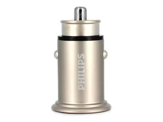 Carregador Veicular Philips Quick Charge 2 Entradas - 1