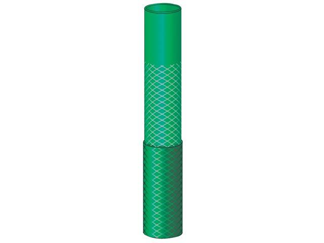 Mangueira Flex Tramontina Verde em PVC 3 Camadas Engates Rosqueado 25M - 1