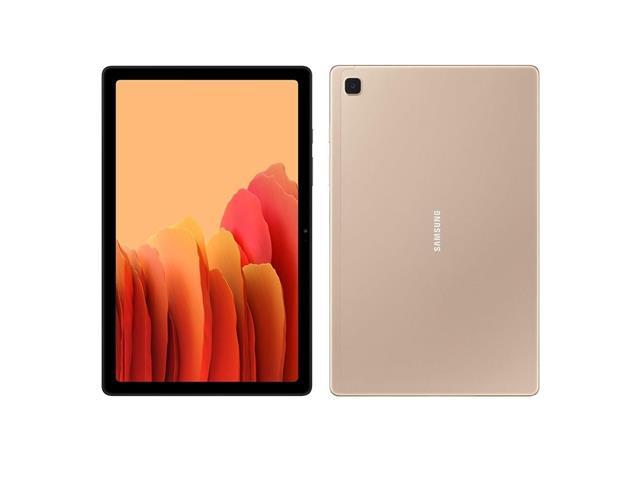 """Tablet Samsung Galaxy Tab A7 4G Wi-Fi 10.4"""" 64GB 3GB RAM 8+5MP Dourado"""