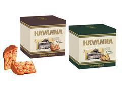 Combo Havanna Panettone Genovês + Panettone Gotas Choc e Doce de Leite