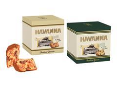 Combo Havanna Panettone Genovês + Duplo Recheio Choc e Doce de Leite