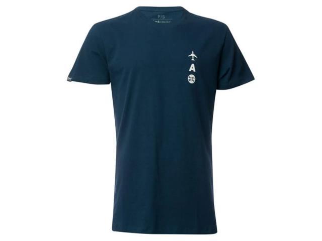 Camiseta Azul Collection Brazilian Airlines Azul Marinho G