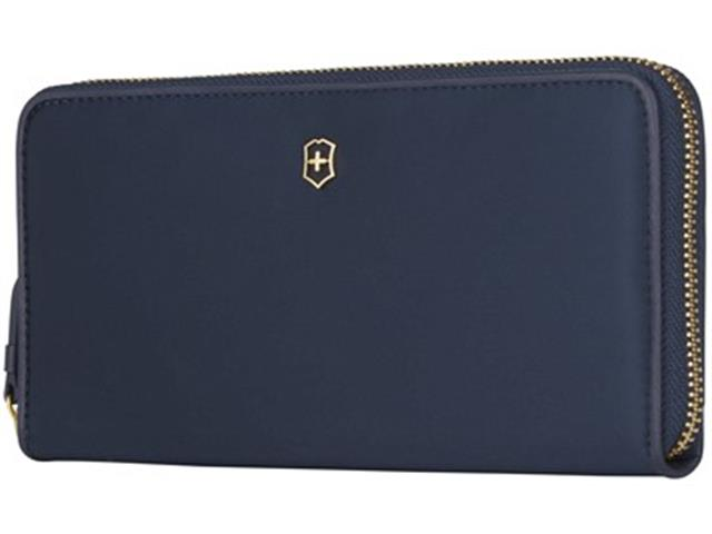 Carteira Victorinox Victoria 2.0 Small Items Continental Wallet  Azul