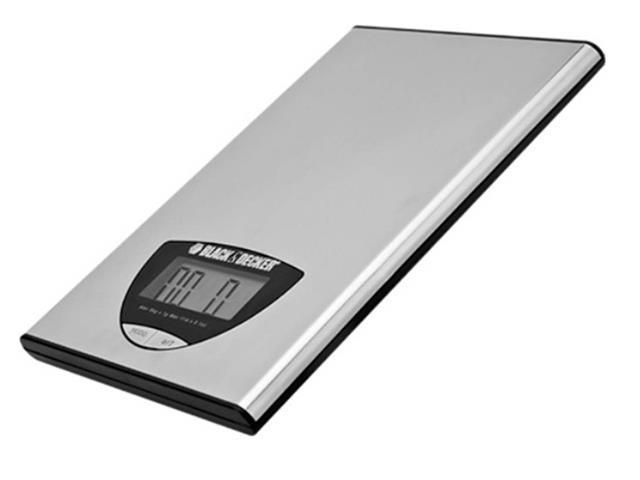 Balança Digital para Cozinha Black&Decker Inox