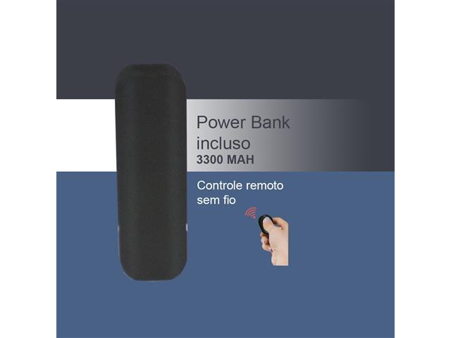 Suporte para Smartphone Vivitar Ring Light com Controle e Powerbank - 2