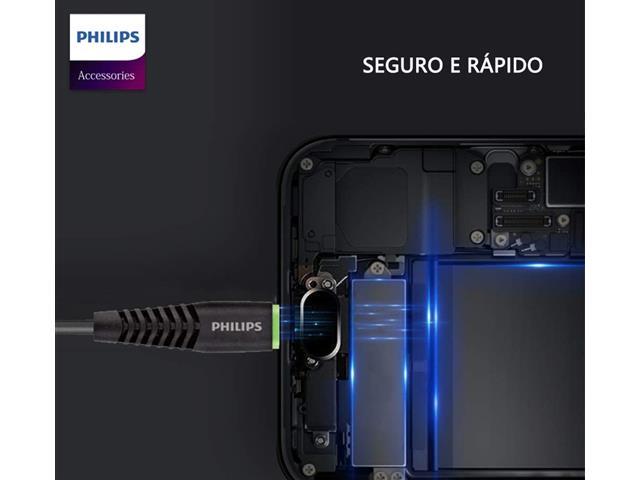Kit Philips Carregador Super Rápido Qc3.0 + Cabo Micro USB - 4