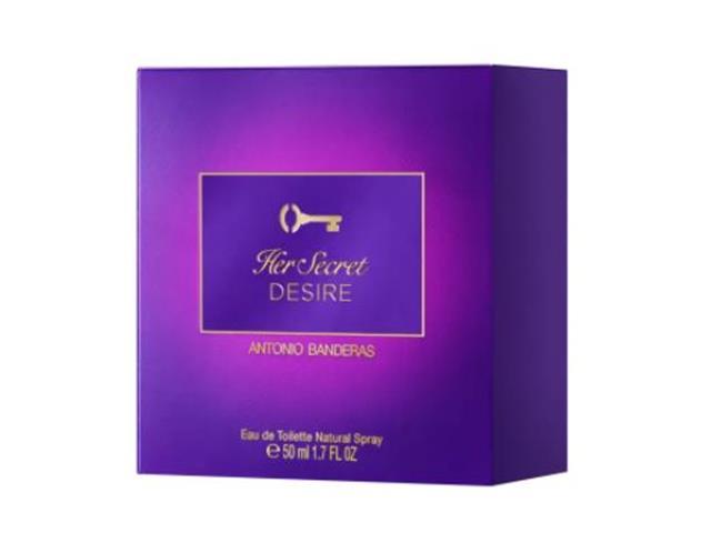 Perfume Antonio Banderas Her Secret Desire Eau de Toilette Fem 50ML - 2
