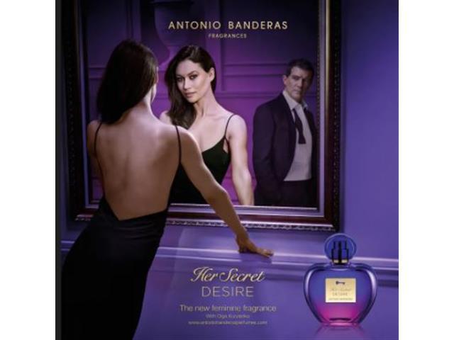 Perfume Antonio Banderas Her Secret Desire Eau de Toilette Fem 50ML - 3