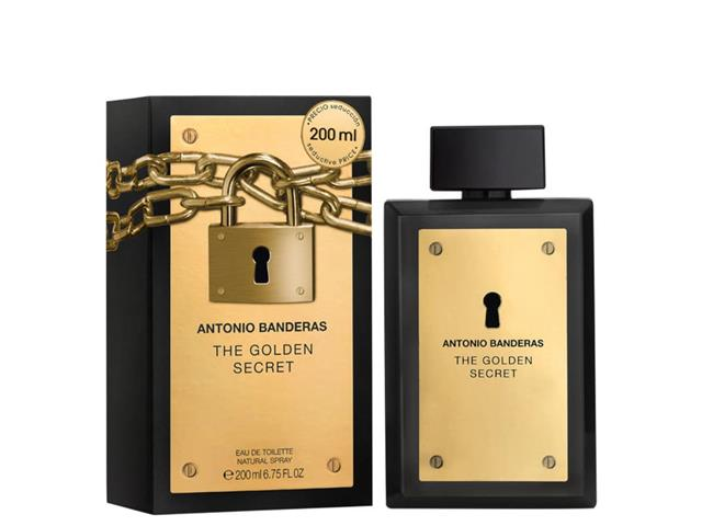 Perfume Antonio Banderas The Golden Secret Eau de Toilette Masc 200ML
