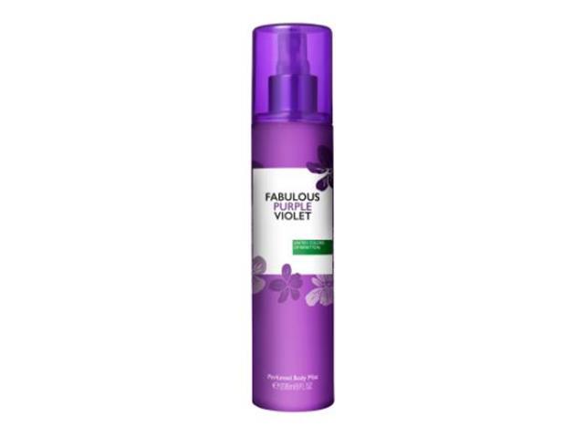 Body Mist  Benetton Fabulous Purple Violet Feminino 236ML