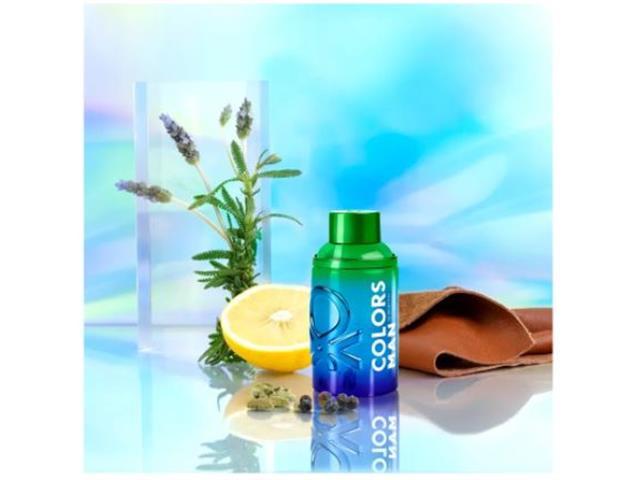 Perfume Benetton Colors Holo Masculino Eau de Toilette 100ML - 3